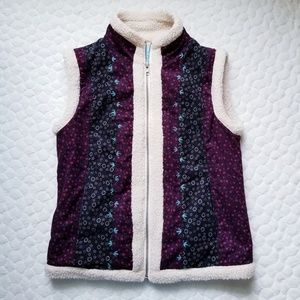 Urban Outfitters Kimchi Blue vest sherpa fleece
